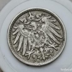 "Monedas antiguas de Europa: ALEMANIA5PENIQUES,1915 CUPRONÍQUEL / NO MAGNÉTICO /CECA ""D"" - MÚNICH. Lote 245135505"