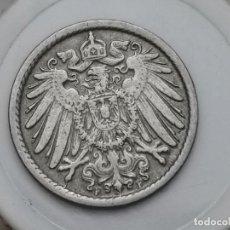 "Monedas antiguas de Europa: ALEMANIA5PENIQUES,1906 CECA ""F"" – STUTTGART. Lote 245135545"