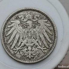 "Monedas antiguas de Europa: ALEMANIA5PENIQUES,1911 CECA ""D"" – MÚNICH. Lote 245135570"