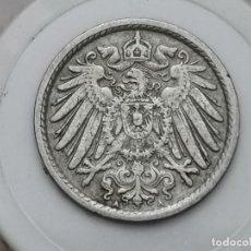 "Monedas antiguas de Europa: ALEMANIA5PENIQUES,1908 MARCA DE CECA ""A"" – BERLÍN. Lote 245135580"