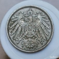 "Monedas antiguas de Europa: ALEMANIA10PENIQUES,1911 MARCA DE CECA ""A"" – BERLÍN. Lote 245135630"