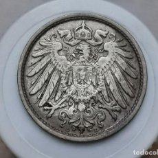 "Monedas antiguas de Europa: ALEMANIA10PENIQUES,1912 CECA ""D"" – MÚNICH. Lote 245135830"