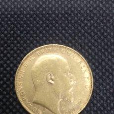 Monedas antiguas de Europa: MONEDA DE ORO, 1906, EDWARD VII, GRAN BRETAÑA. Lote 245297830