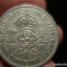 Monedas antiguas de Europa: GRAN BRETAÑA 2 CHELINES TWO SHILLINGS JORGE VI AÑO 1948 - MIRA MAS DE ESTE PAIS EN VENTA. Lote 246365145