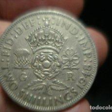 Monedas antiguas de Europa: GRAN BRETAÑA 2 CHELINES TWO SHILLINGS JORGE VI AÑO 1948 - MIRA MAS DE ESTE PAIS EN VENTA. Lote 246365215