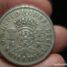 Monedas antiguas de Europa: GRAN BRETAÑA 2 CHELINES TWO SHILLINGS JORGE VI AÑO 1950 - MIRA MAS DE ESTE PAIS EN VENTA. Lote 246365375