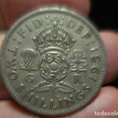 Monedas antiguas de Europa: GRAN BRETAÑA 2 CHELINES TWO SHILLINGS JORGE VI AÑO 1951 - MIRA MAS DE ESTE PAIS EN VENTA. Lote 246365495