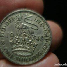Monedas antiguas de Europa: GRAN BRETAÑA 1 CHELIN ONE SHILLING JORGE VI AÑO 1948 - MIRA MAS DE ESTE PAIS EN VENTA. Lote 246365830