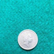 Monedas antiguas de Europa: INGLATERRA FIVE PENCE 1996 MBC. Lote 246496345