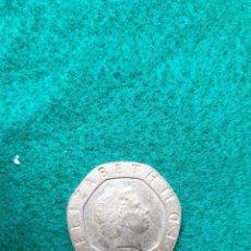 Monedas antiguas de Europa: INGLATERRA TWENTY PENCE 2005 MBC. Lote 246500340