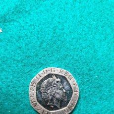 Monedas antiguas de Europa: INGLATERRA TWENTY PENCE 2015 MBC. Lote 246501025