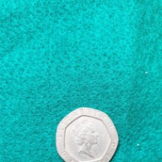 Monedas antiguas de Europa: REINO UNIDO INGLATERRA GRAN BRETAÑA TWENTY PENCE 1991. Lote 246507815