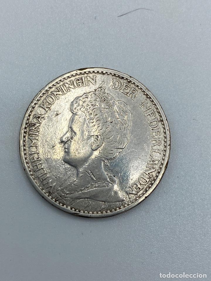 Monedas antiguas de Europa: MONEDA. HOLANDA. 1 GULDEN. WILHERMINA KONINGIN. 1915. VER FOTOS - Foto 2 - 246831100