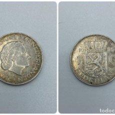 Monedas antiguas de Europa: MONEDA. HOLANDA. 1 GULDEN. JULIANA KONINGIN. 1955. PLATA. VER FOTOS. Lote 246831760