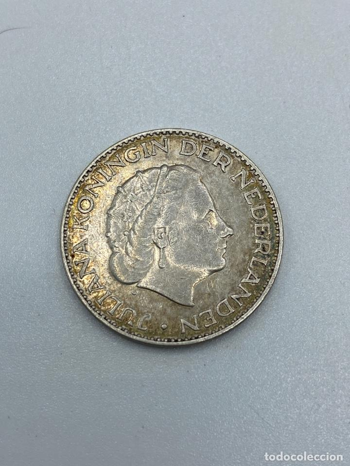Monedas antiguas de Europa: MONEDA. HOLANDA. 1 GULDEN. JULIANA KONINGIN. 1955. PLATA. VER FOTOS - Foto 2 - 246831760