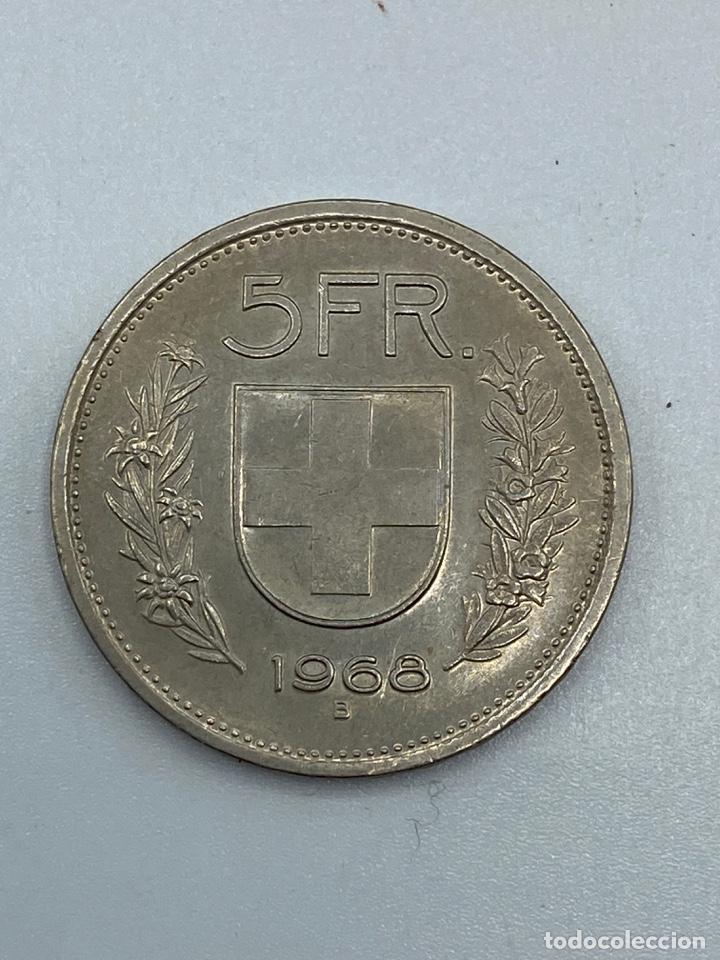 Monedas antiguas de Europa: MONEDA. SUIZA. 5 FRANCOS. 1968 - B. VER FOTOS - Foto 3 - 246835440