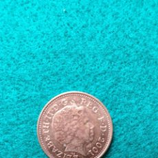 Monedas antiguas de Europa: INGLATERRA ONE PENNY 2001. Lote 246981920