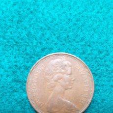 Monedas antiguas de Europa: INGLATERRA TWO PENNY 1971. Lote 246985580