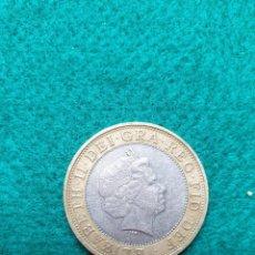 Monedas antiguas de Europa: INGLATERRA TWO POUNDS 2001. Lote 246986930