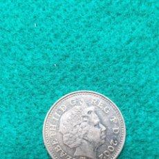 Monedas antiguas de Europa: INGLATERRA TEN PENCE 2002. Lote 246988235