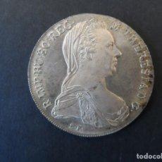Monedas antiguas de Europa: 1 TALER MARIA THERESIA 1870. PLATA. CECA VIENA. ACUÑACION AÑOS 1945-60. S.C.. Lote 247145065