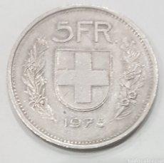 Monedas antiguas de Europa: SUIZA. 5 FRANCOS DE 1975. Lote 247630240