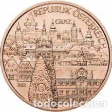 Monedas antiguas de Europa: AUSTRIA 2012 10 EUROS, ESTADOS AUSTRÍACOS - STYRIA. Lote 262611295