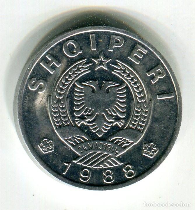 ALBANIA 50 QINDARKA AÑO 1988 S/C - Z - (Numismática - Extranjeras - Europa)