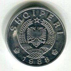 Monete antiche di Europa: ALBANIA 50 QINDARKA AÑO 1988 S/C - Z -. Lote 248258200