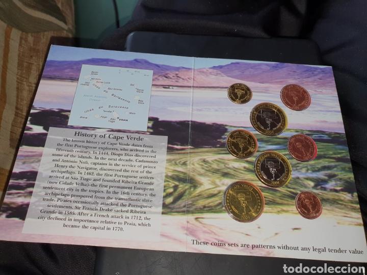 Monedas antiguas de Europa: Set 8 monedas preeuros 2004 Cabo verde - Foto 3 - 251185525