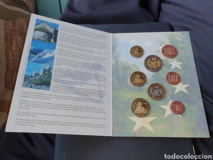 Monedas antiguas de Europa: Set euros a prueba andorra 2003 - Foto 2 - 251186055