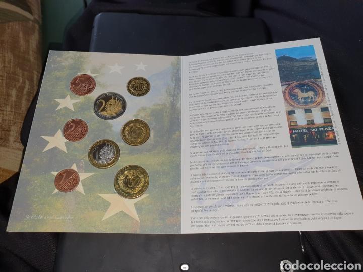 Monedas antiguas de Europa: Set euros a prueba andorra 2003 - Foto 3 - 251186055