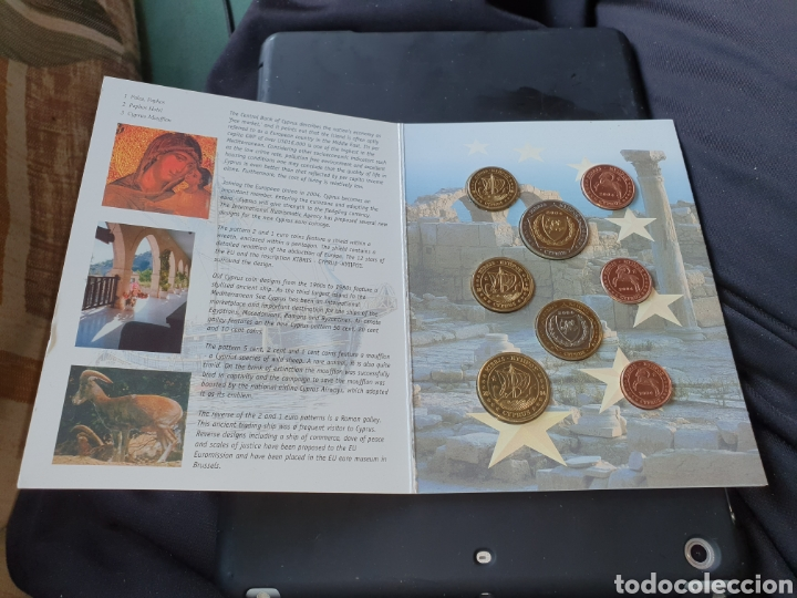 Monedas antiguas de Europa: Set 8 euros en prueba chipre 2004 - Foto 2 - 251186355