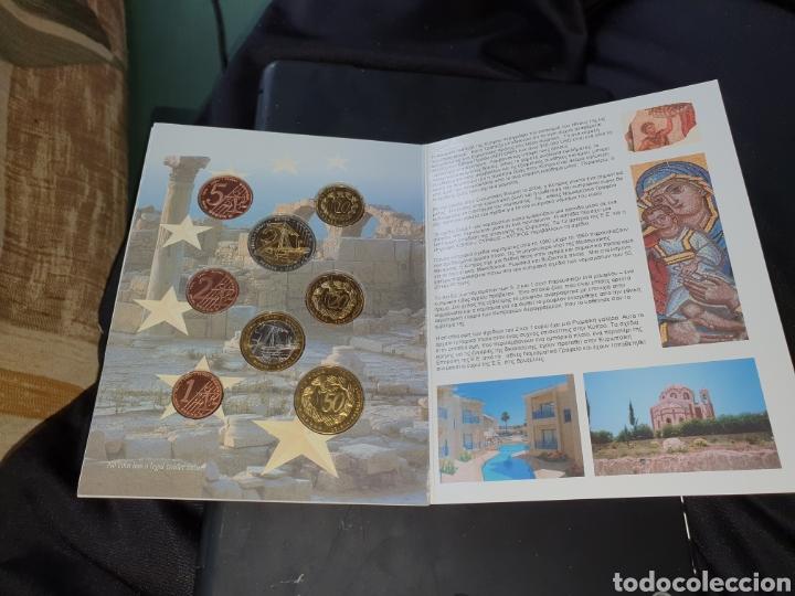 Monedas antiguas de Europa: Set 8 euros en prueba chipre 2004 - Foto 3 - 251186355