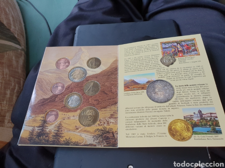 Monedas antiguas de Europa: 8 euros en prueba Suiza 2003 - Foto 3 - 251189390