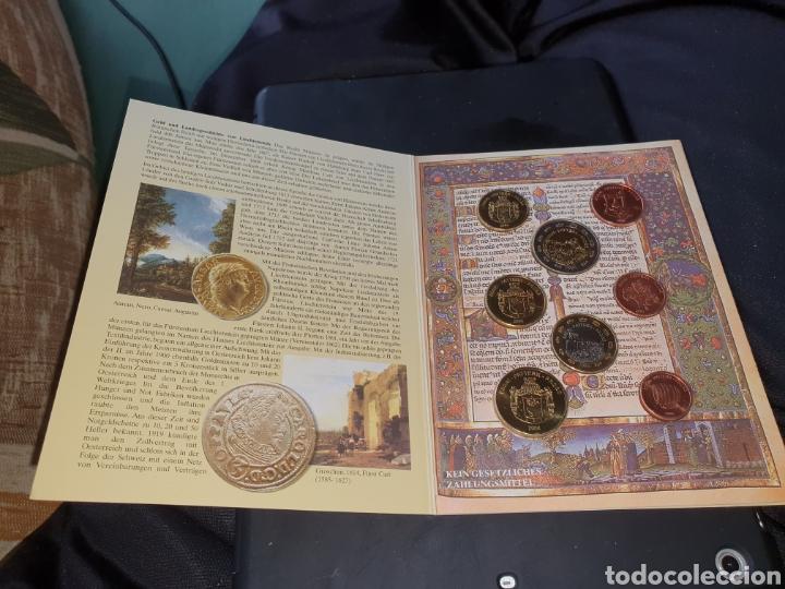 Monedas antiguas de Europa: 8 monedas euros en prueba 2004 liechtenstein - Foto 2 - 251189820