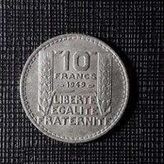 Monedas antiguas de Europa: FRANCIA 10 FRANCS 1949 KM909.1. Lote 252392525