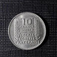 Monedas antiguas de Europa: FRANCIA 10 FRANCS 1948 KM909.1. Lote 252392615