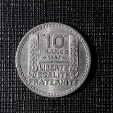 Monedas antiguas de Europa: FRANCIA 10 FRANCS 1947 KM909.1. Lote 252392870
