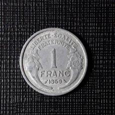 Monedas antiguas de Europa: FRANCIA 1 FRANC 1959 KM885A.1. Lote 252393870