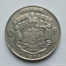 Monete antiche di Europa: BÉLGICA 10 FRANCOS 1969 BELGIQUE. Lote 278229448