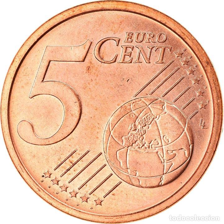 Monedas antiguas de Europa: CIUDAD DEL VATICANO, 5 Euro Cent, 2003, Rome, SC, Cobre chapado en acero, KM:343 - Foto 2 - 253416740