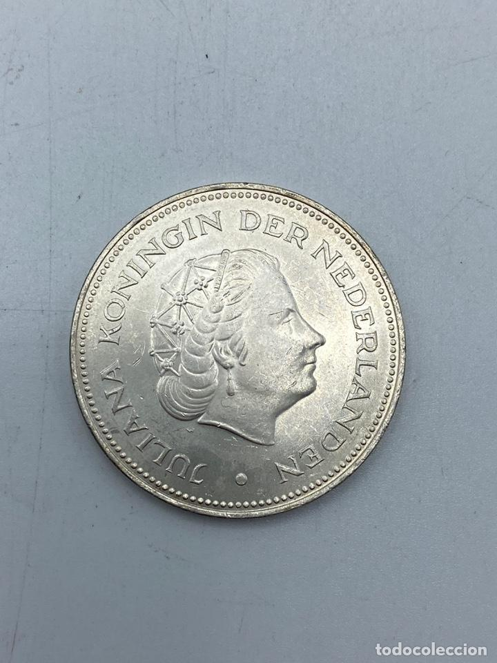 Monedas antiguas de Europa: HOLANDA. 10 GULDEN DE PLATA. GUILLERMINA Y JULIANA. AÑO 1945 - 1970. VER FOTOS - Foto 3 - 253416820