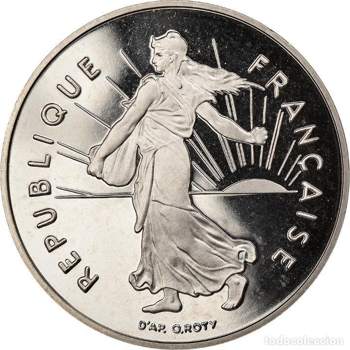 MONEDA, FRANCIA, SEMEUSE, 5 FRANCS, 1991, PARIS, EBC+, NÍQUEL RECUBIERTO DE (Numismática - Extranjeras - Europa)