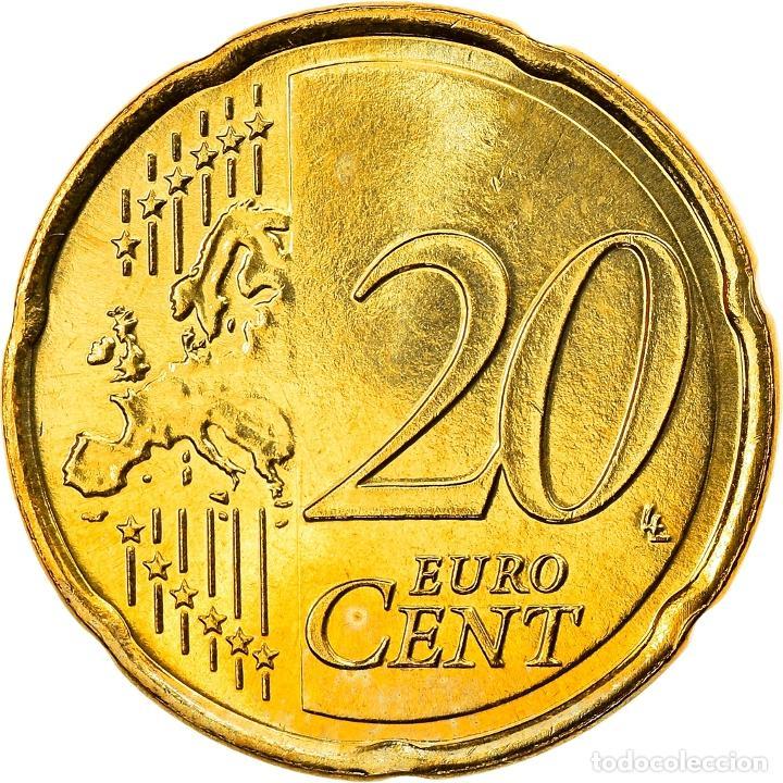Monedas antiguas de Europa: Países Bajos, 20 Euro Cent, 2014, Utrecht, SC, Latón - Foto 2 - 253417710