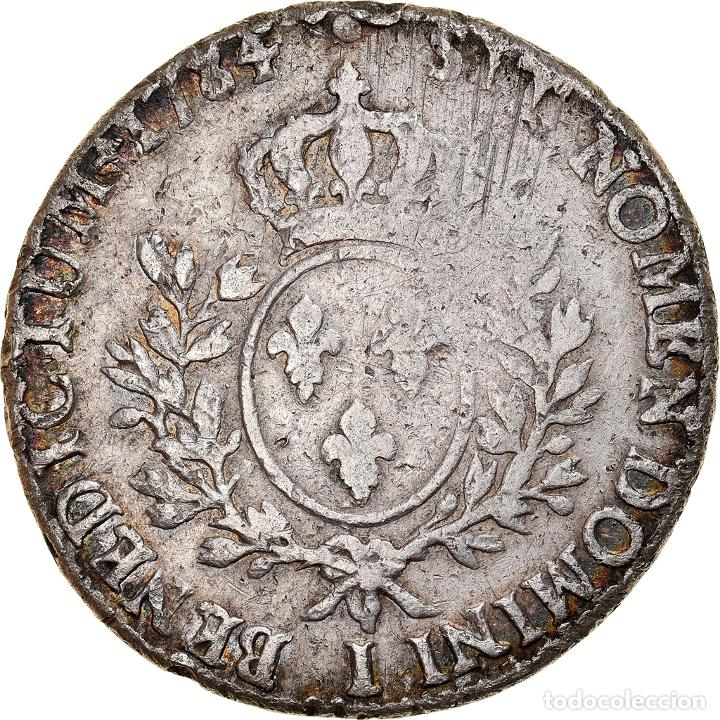 Monedas antiguas de Europa: Moneda, Francia, Louis XVI, Écu aux branches dolivier, Ecu, 1784, Limoges, BC - Foto 2 - 253560940
