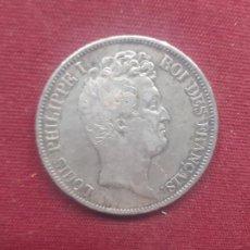 Monete antiche di Europa: FRANCIA. 5 FRANCOS DE 1831. LUIS FELIPE DE ORLEANS. PLATA. Lote 253911805