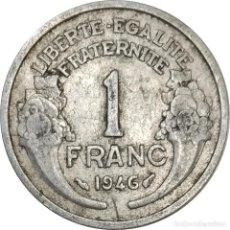 Monedas antiguas de Europa: FRANCIA. 1 FRANC DE 1946, SIN MARCA CECA. (021).. Lote 254026660