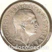 Monedas antiguas de Europa: ALBANIA. 1 frang ar 1937. KM 16. PLATA. - Foto 2 - 254430645