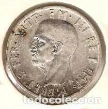 Monedas antiguas de Europa: ALBANIA. Ocupación italiana II G.M. 5 lek 1939. KM 33. Plata. - Foto 2 - 254430670